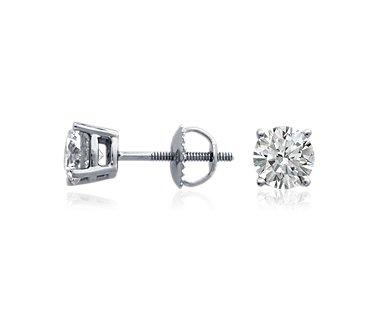 Diamond Stud Earrings in Platinum (4 ct. tw.)