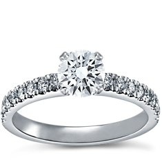 Nouveau Diamond Engagement Ring