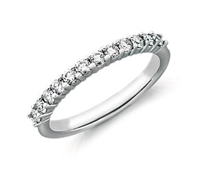 Bella Classic Diamond Ring in Platinum (3/8 ct. tw.)