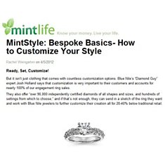 Mint.com - How to Customize Your Style