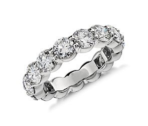 Diamond Eternity Ring in Platinum (5 ct. tw.)