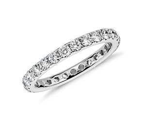 Diamond Eternity Ring in 14k White Gold (1 ct. tw.)