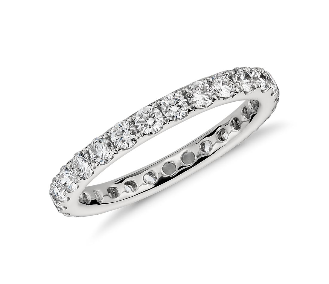 Diamond Eternity Ring in Platinum (1 ct. tw.)