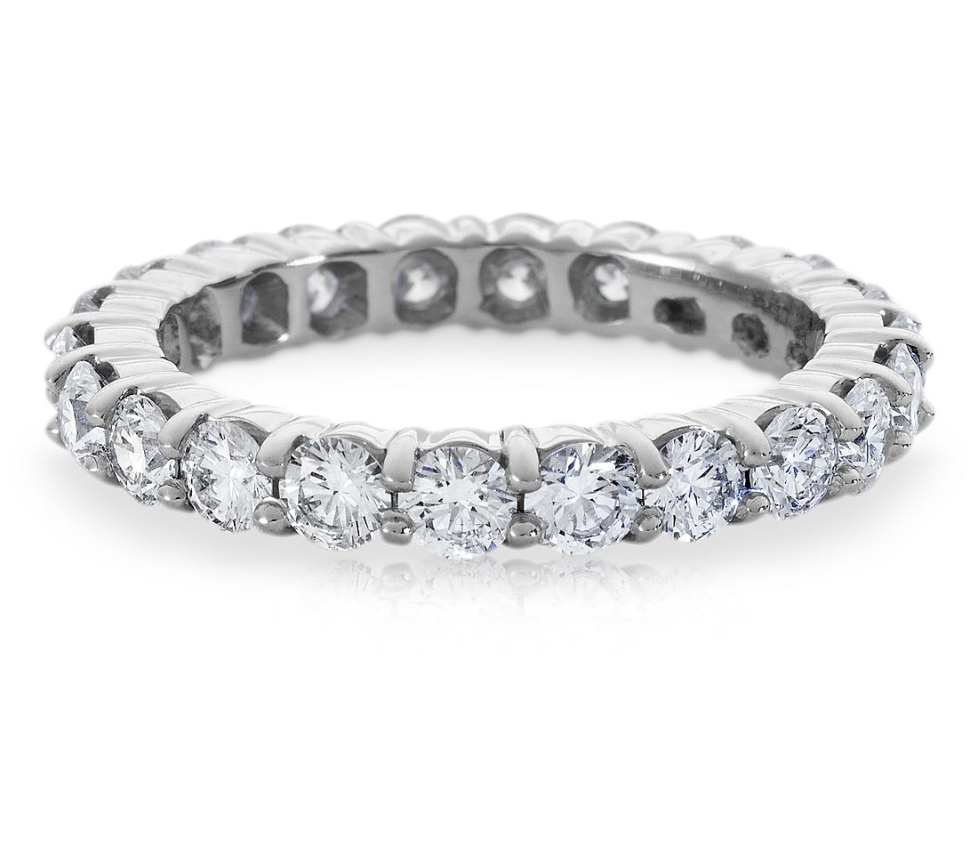 Diamond Eternity Ring in Platinum