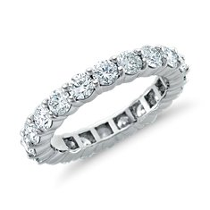 Diamond Eternity Ring in Platinum (3 ct. tw.)