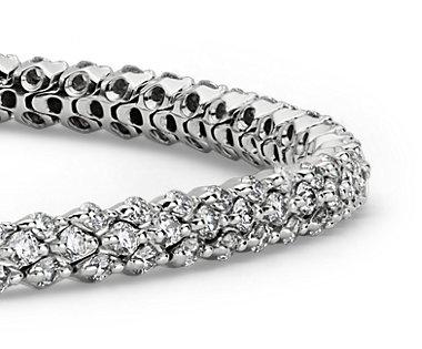 Diamond Garland Bracelet in 14k White Gold (2 3/8 ct. tw.)