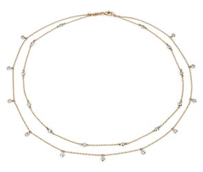 Fancies-By-The-Yard Necklace in 18k Rose Gold