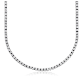 Eternity Diamond Necklace in 18k White Gold (5 ct. tw.)