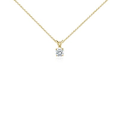 Diamond Pendant in 18k Yellow Gold (1 ct. tw.)