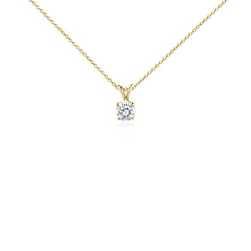 Diamond Pendant in 18k Yellow Gold (1 1/2 ct. tw.)