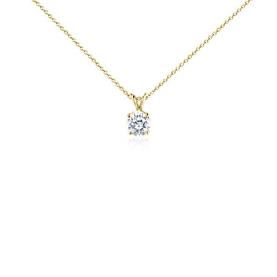 Diamond Pendant in 18k Yellow Gold (2 ct. tw.)