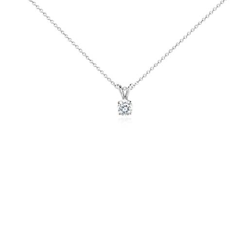 Diamond Pendant in Platinum (3/4 ct. tw.)