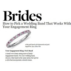 Brides - How to Pick a Wedding Band That Works With Your Engagement Ring