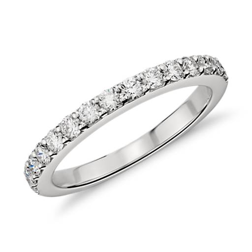 Pavé Diamond Ring in Platinum (1/2 ct. tw.)