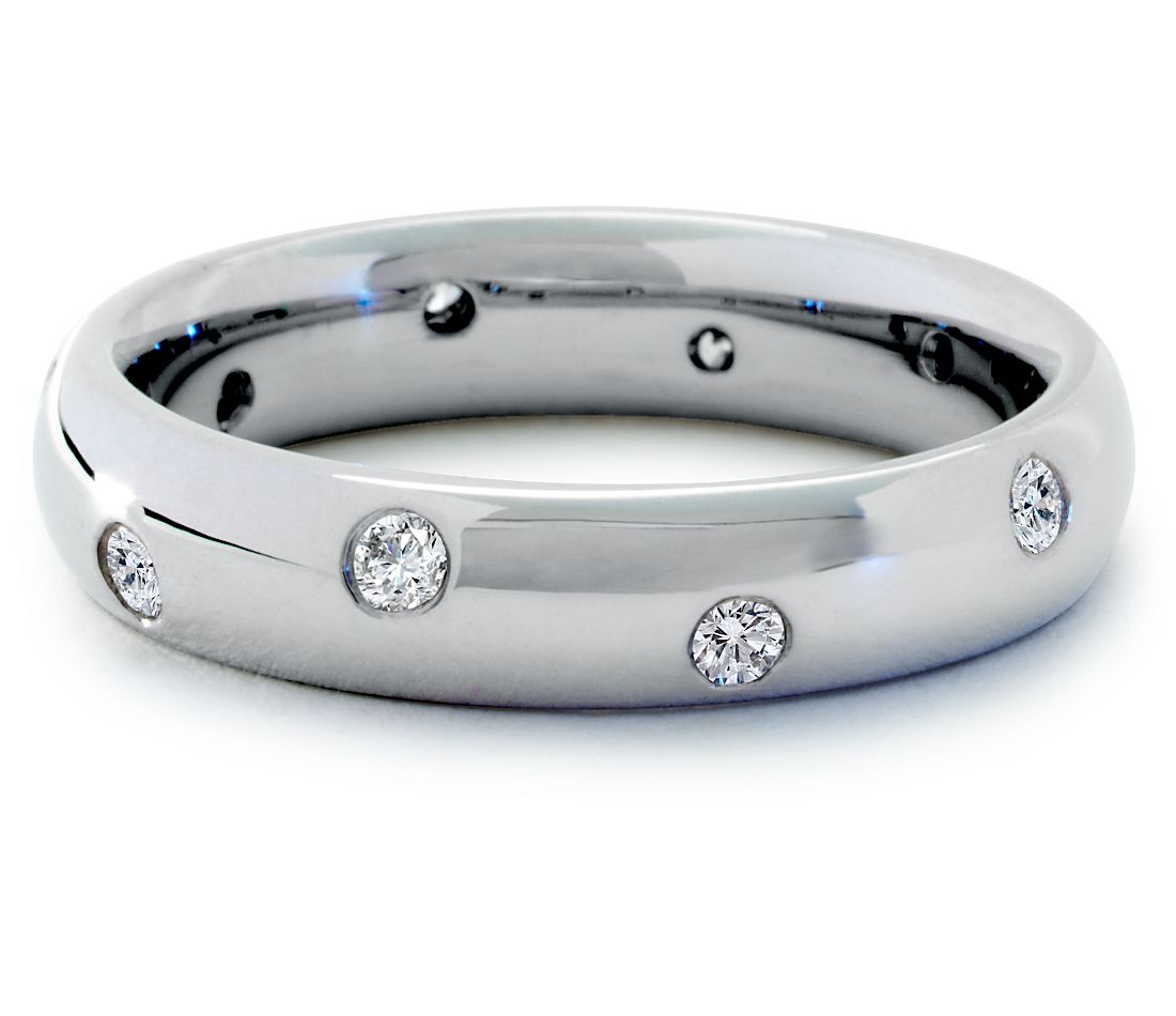 Starlight Diamond Eternity Ring in Platinum (1/5 ct. tw.)