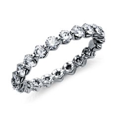 Floating Diamond Eternity Ring in Platinum (1 1/2 ct. tw.)
