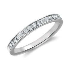 Bague diamants sertis pavé en Platine