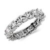 Cushion-Cut Diamond Eternity Ring in Platinum (4 1/2 ct. tw.)