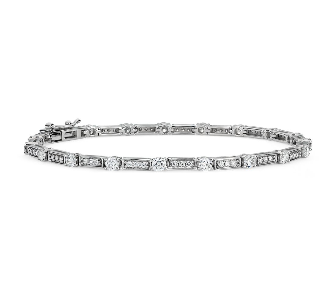 Diamond Tennis Bracelet in 18k White Gold (2.29 ct. tw)