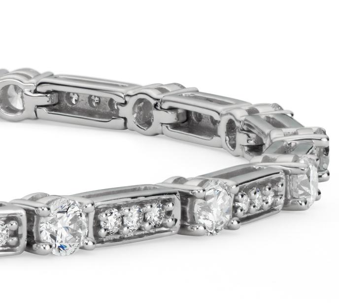 Diamond Tennis Bracelet in 18k White Gold (2.29 ct. tw)