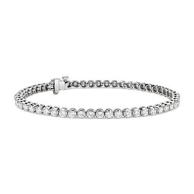 NEW Diamond Tennis Bracelet in 14k White Gold (4 ct. tw.)