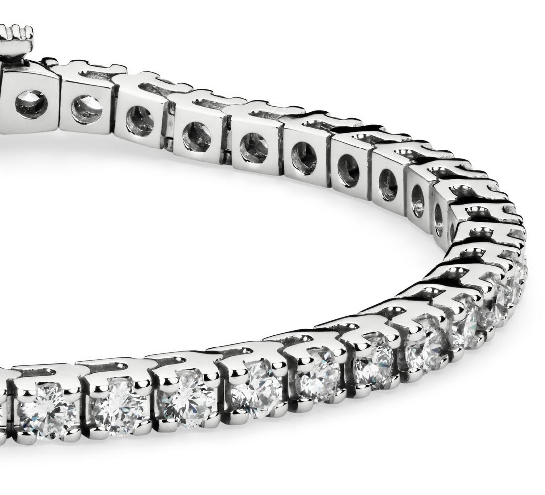 Diamond Tennis Bracelet in 14k White Gold (5 ct. tw.)