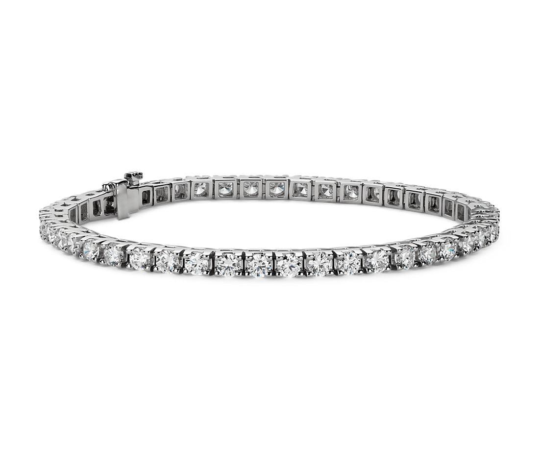 Diamond Tennis Bracelet in 18k White Gold (6 ct. tw.)