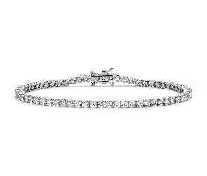 Diamond Tennis Bracelet in 18k White Gold - F / VS2 (4 ct. tw.)