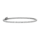 Diamond Tennis Bracelet in 18k White Gold - F / VS2 (4 ct. tw.)