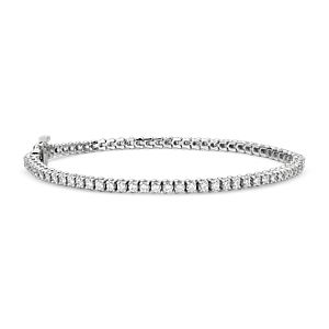 Diamond Tennis Bracelet in 18k White Gold - F / VS2 (2 ct. tw.)