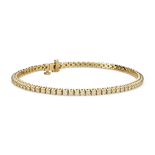 NEW Diamond Tennis Bracelet in 18k Yellow Gold - F / VS2 (2 ct. tw.)