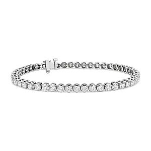 NEW Diamond Tennis Bracelet in Platinum (4.95 ct. tw.)