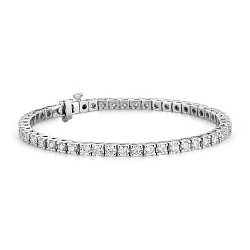 Diamond Tennis Bracelet in 18k White Gold (5 ct. tw.)