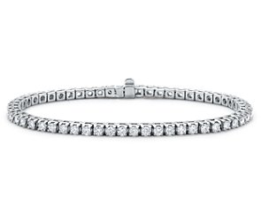 Diamond Tennis Bracelet in 18k White Gold (3 ct. tw.)