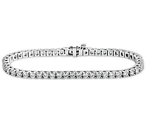 Diamond Tennis Bracelet in 18k White Gold - H / SI2  (4 ct. tw.)