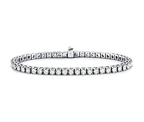 Diamond Tennis Bracelet in 18k White Gold - H / SI2 (5 ct. tw.)