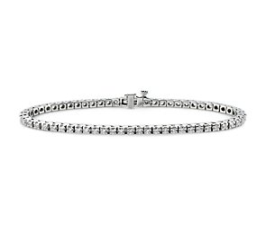 Diamond Tennis Bracelet in 18k White Gold (2 ct. tw.)