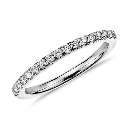 Pavé Diamond Ring in 14k White Gold (1/4 ct. tw.)