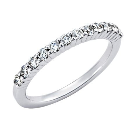 Bella Classic Diamond Ring in 14k White Gold (1/3 ct. tw.)