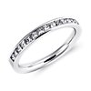 Channel Set Princess Cut Diamond Ring in Platinum (1/2 ct. tw.)