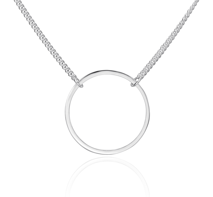 Collier superposé double rang en argent sterling