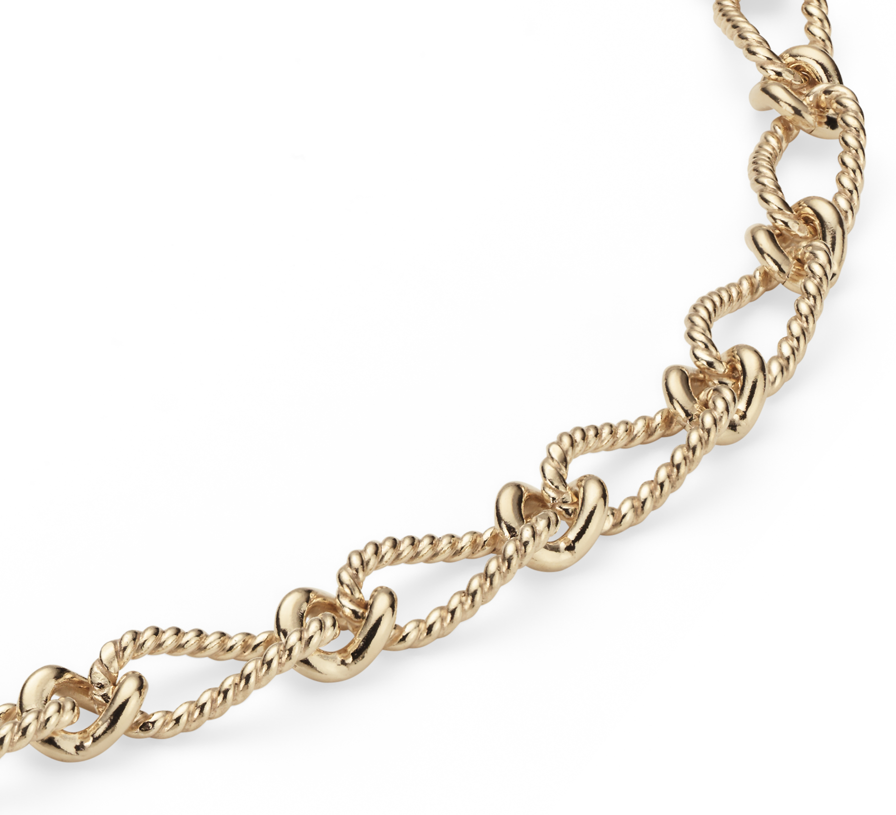 Elegant Necklace in 14k Yellow Gold