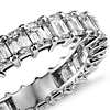 Brilliant Emerald Cut Diamond Eternity Ring in Platinum (3 ct. tw.)
