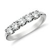 U-Prong Five-Stone Diamond Ring in 14k White Gold (3/4 ct. tw.)