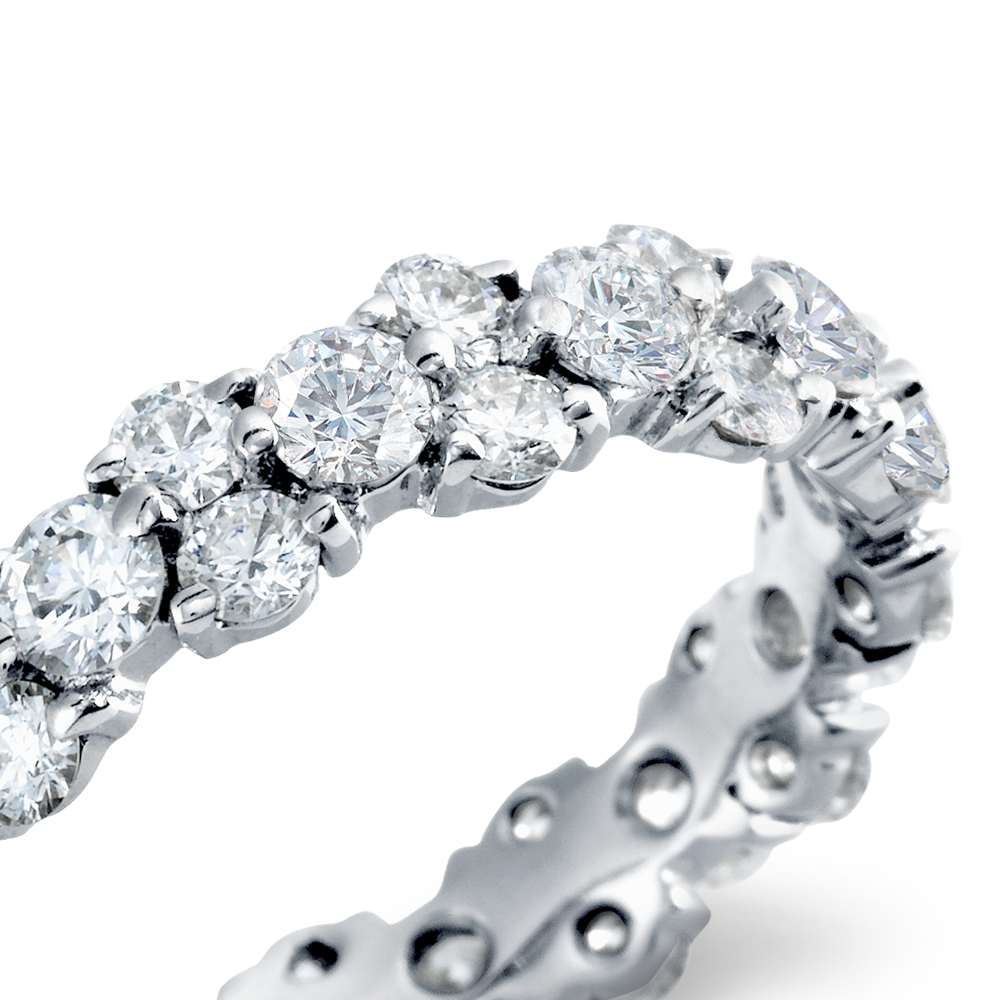Garland Diamond Eternity Ring in Platinum (2.5 ct. tw.)
