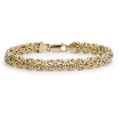 Bracelet byzantin en or 18carats