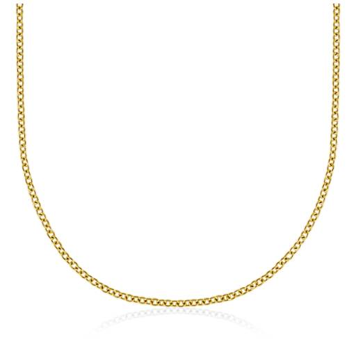 Cable Chain in 14k Yellow Gold