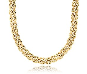 Byzantine Necklace in 18k Yellow Gold