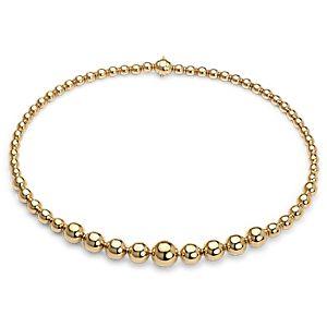 Collier en perles graduées en or jaune 18carats
