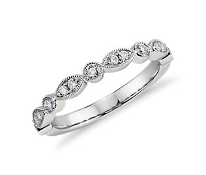 Heirloom Diamond Ring in Platinum (1/5 ct. tw.)